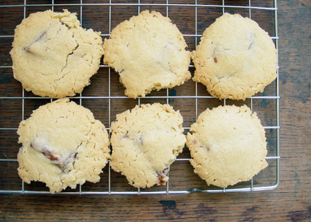 toblerone shortbread cookies