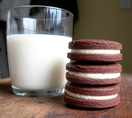 oreos with milk