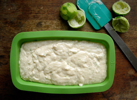 Lime Coconut Yogurt Cake