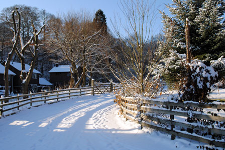 after all its hard to remain too morose in the picturesque welsh village where andrews parents live especially when its lying under a blanket of snow - Christmas In Wales