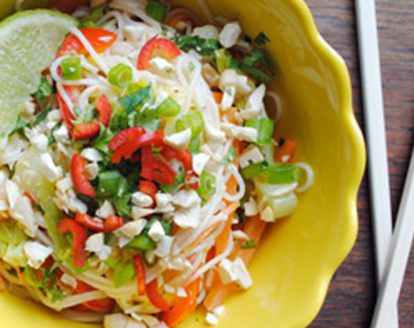 Snackable: Pad Thai Noodle Salad