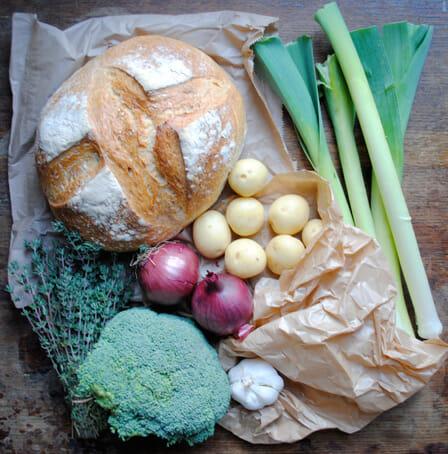 Bagged Bread, Bagged Veg