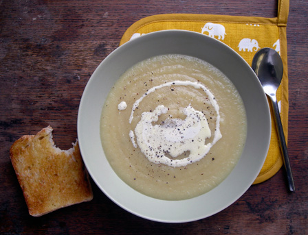 Match made: Celeriac and Apple Soup