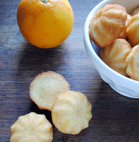 Chase away the greys: Orange-scented Financiers