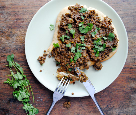 A Leftover Experience: Whole Lentil Curry