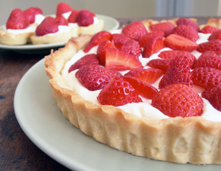 strawberry-tarts